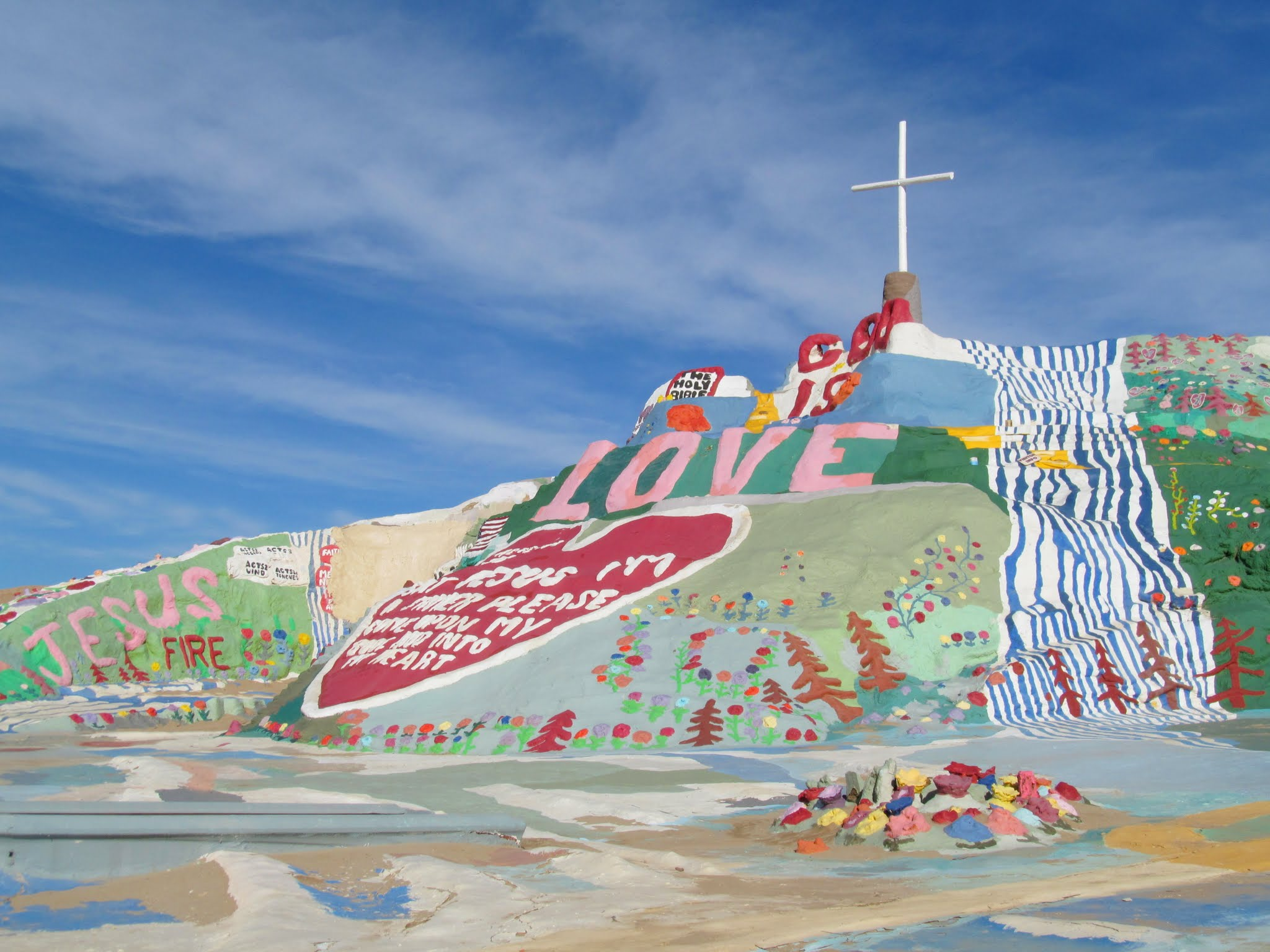Photo: Salvation Mountain