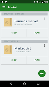 Market Grocery List screenshot 1