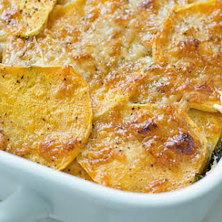 Sweet Potato White Potato Gratin Recipes.