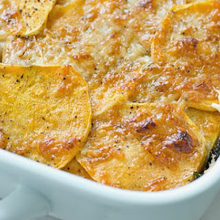 Sweet Potato Gratin.