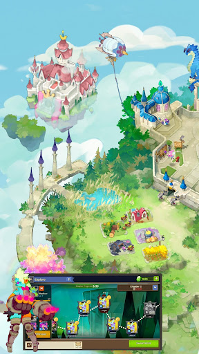 Sky Kingdoms: Dragon War 1.1.0 gameplay   by HackJr.Pw 13