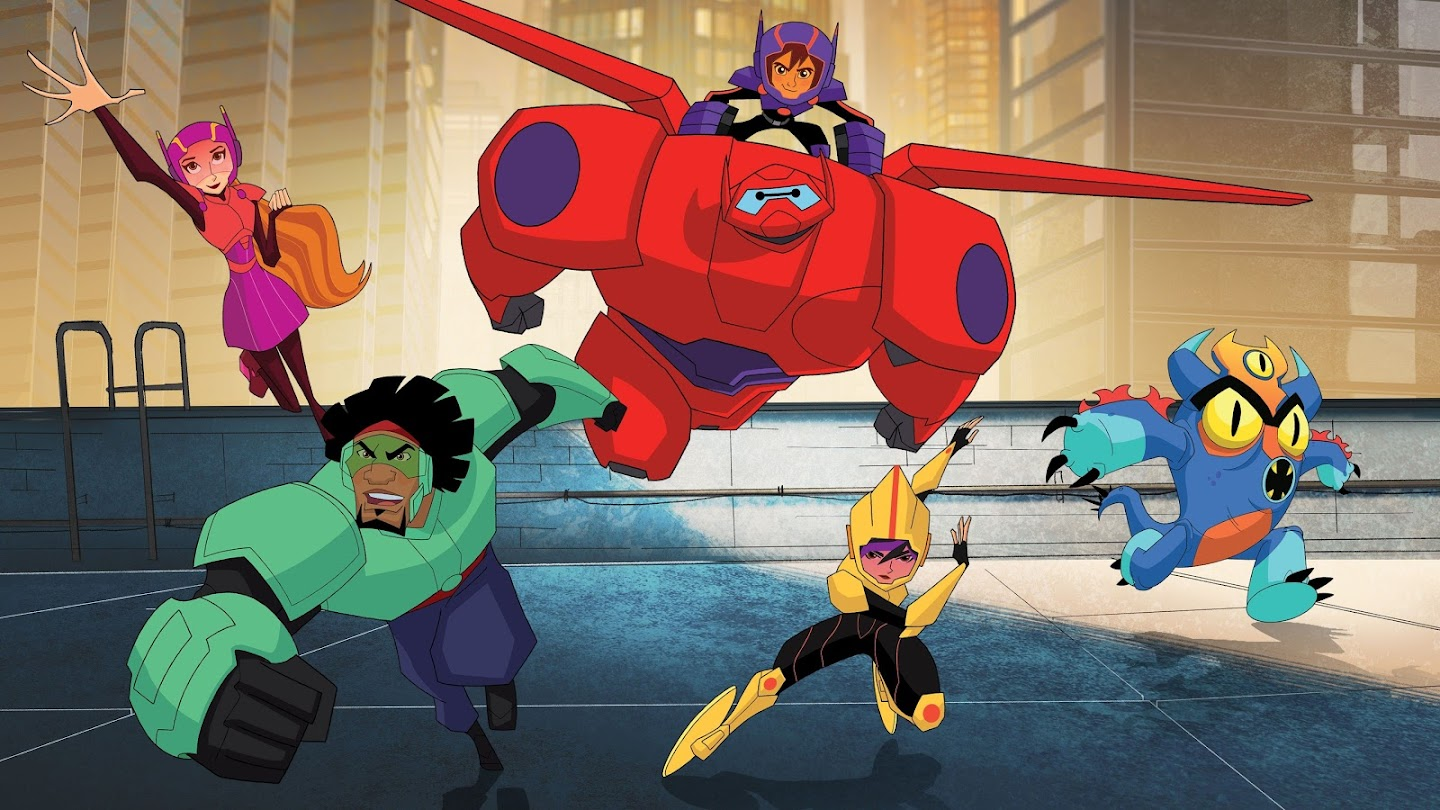 Watch Big Hero 6 The Series live
