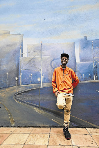 AMBITIOUS: Okmalumkoolkat says making money is the best way to see if an idea is working or not