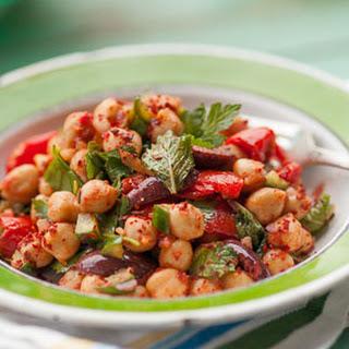 Turkish-Style Chickpea Salad