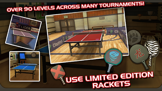 Ping Pong Masters 1.1.4 MOD + APK + DATA Download 2