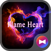 Flame Heart +HOME Theme