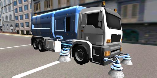 Road Street Sweeper