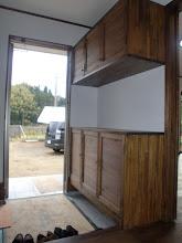 Photo: 玄関下足入 2
