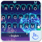 Live 3D New Year 2018 Keyboard Theme