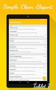 Notes (Super Simple Notes) Screenshot
