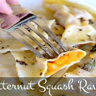 Rustic Butternut Squash Ravioli