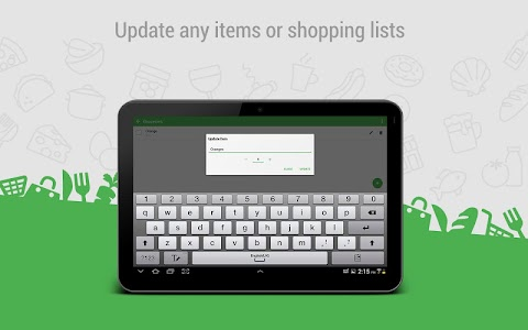 Happy Shopper - Shopping list screenshot 6