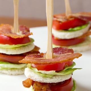 Bacon, Lettuce, & Tomato Tea Sandwich Recipe