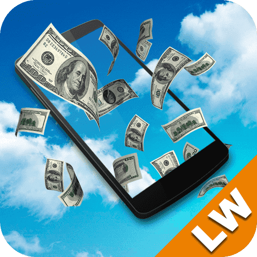 Falling money Live Wallpaper file APK for Gaming PC/PS3/PS4 Smart TV