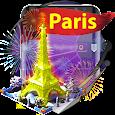Paris Eiffel Tower Keyboard icon