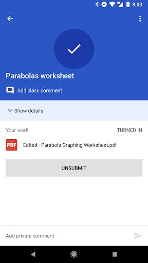 Google Classroom 4.8.312.06.35 screenshots 6
