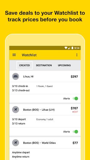 Cheapflights – Flight Search screenshot