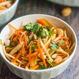 Crunchy Asian Parsnip & Carrot Salad