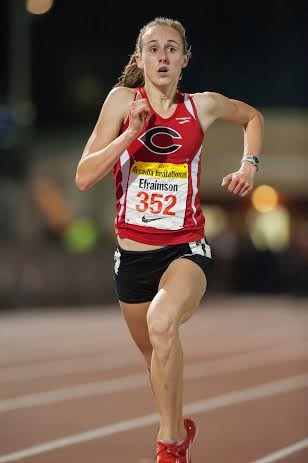 Alexa Efraimson at Arcadia (Chuck Utash photo)
