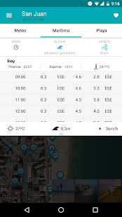 iBeach: Encuentra tu playa – Miniaturansicht des Screenshots