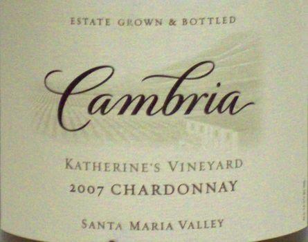 Logo for Cambria Katherine's Vineyard Chardonnay