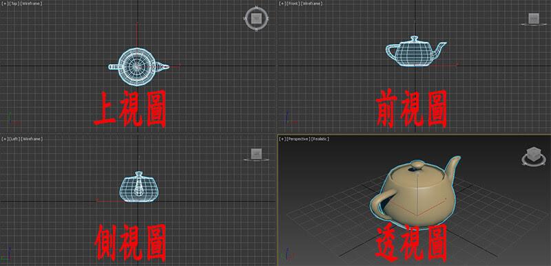 3DMAX視窗切換要背快捷鍵,不然會讓別人馬上暴走