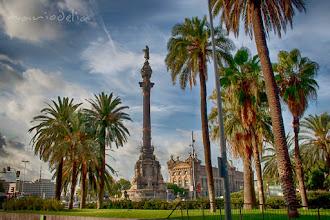 Photo: Colombus Statue