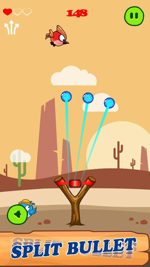 Slingshot - Birds Hunt- screenshot