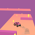 Truck Rush 3D - Running car racing casual game icon