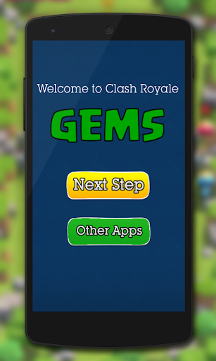Gems for Clash Royale  for PC