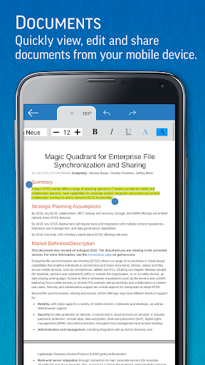 SmartOffice - View & Edit MS Office files & PDFs screenshot 2