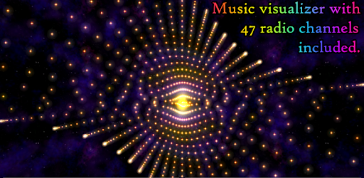 Morphing Galaxy Music visualizer & Live Wallpaper on Windows