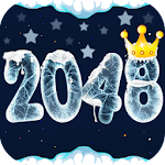 Christmas 2048 Number Game Icon