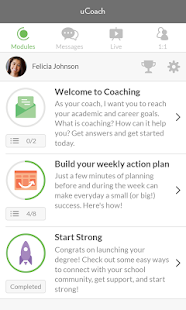 uCoach screenshot