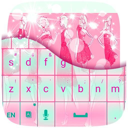时尚的主题键盘 個人化 App LOGO-APP試玩