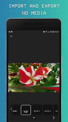 EZGlitch: 3D Glitch Video & Photo Effects 1.2.5 screenshots 3