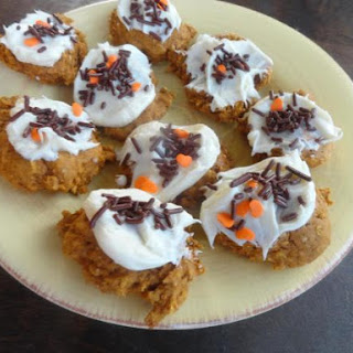 Healthier Than Candy Pumpkin Cookies