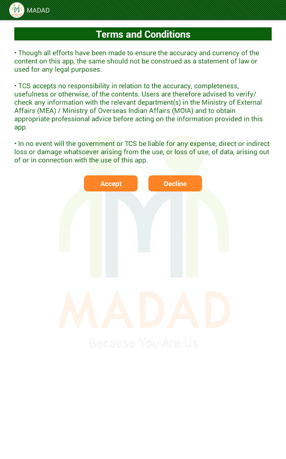 MADAD- screenshot