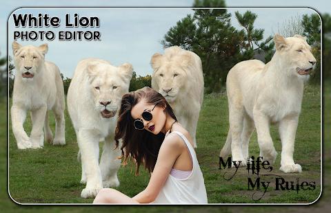 White Lion Photo Editor - náhled