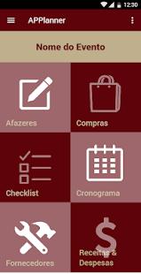 APPlanner - Event Management Tool (Unreleased) - náhled
