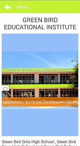 Green Bird Education Institute