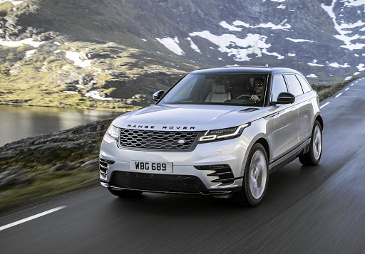 Mark has opted for the Range Rover Velar as his all-rounder sport utility vehicle. Picture: LAND ROVER