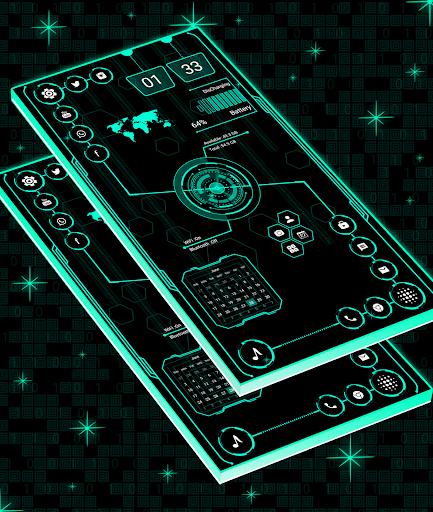Download Visionary Launcher Pro - 2018 Stylish theme MOD APK 2