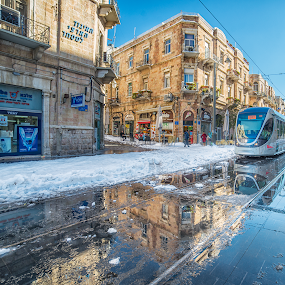 jaffa by Romel Pineda - Transportation Trains