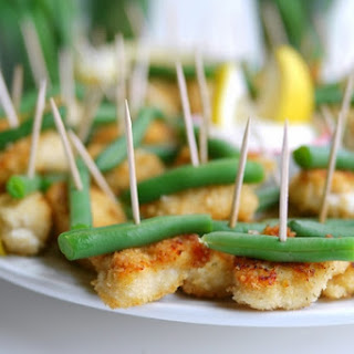 Dounble Ranch Chicken and Green Bean Bites