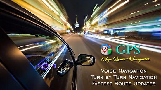 Navigace GPS trasy - Vyhledávač nedaleko míst - náhled