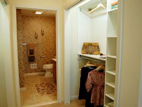 Photo: The walk-through closet for the ASHBERRY condo.