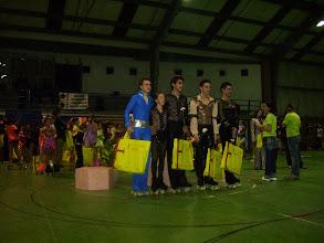 Photo: los campeones de gala