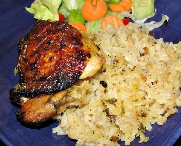 One Pot Greek Chicken And Lemon Rice Recipe