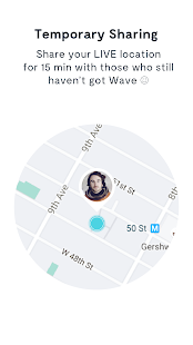Wave Let's Meet App - Find Your Friends- screenshot thumbnail
